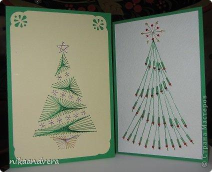 Свежие, открытки из ниток своими руками шаблоны