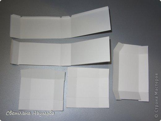 Мастер-класс Поделка изделие Бумагопластика Картонаж Квиллинг Мини трюмо для бижутерии+МК Бумажные полосы Картон фото 6