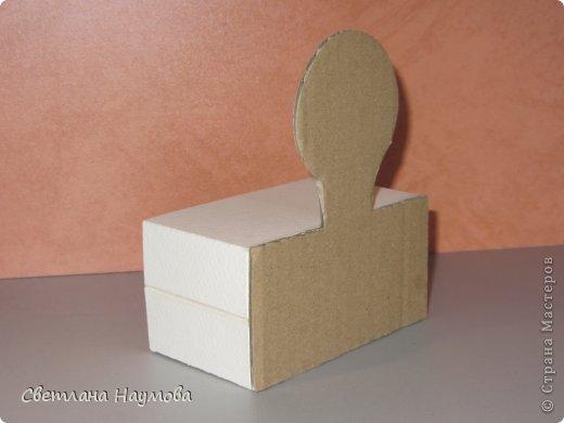 Мастер-класс Поделка изделие Бумагопластика Картонаж Квиллинг Мини трюмо для бижутерии+МК Бумажные полосы Картон фото 9