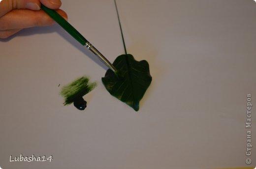 Мастер-класс Флористика Новый год Лепка Рождественский цветок пуансетия из холодного фарфора Фарфор холодный фото 23