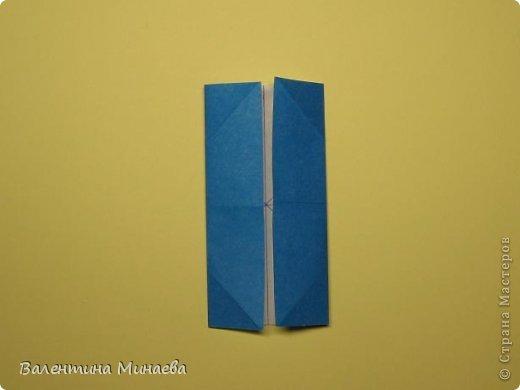 Name: Curly tulip Designer: Valentina Minayeva Parts: 30 Paper: 10,0 x 10,0  10,0 with glue AND... фото 10