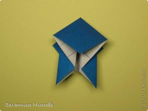 Name: Curly tulip Designer: Valentina Minayeva Parts: 30 Paper: 10,0 x 10,0  10,0 with glue AND... фото 27