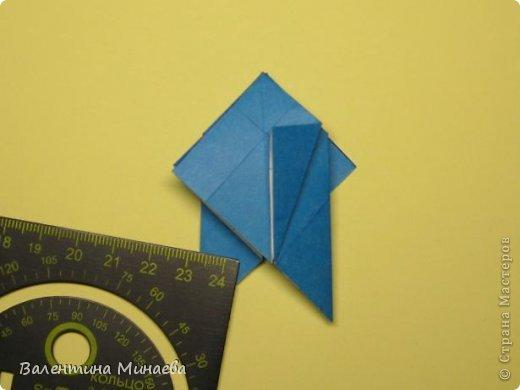 Name: Curly tulip Designer: Valentina Minayeva Parts: 30 Paper: 10,0 x 10,0  10,0 with glue AND... фото 28