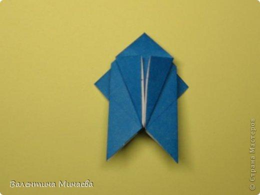 Name: Curly tulip Designer: Valentina Minayeva Parts: 30 Paper: 10,0 x 10,0  10,0 with glue AND... фото 29