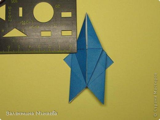 Name: Curly tulip Designer: Valentina Minayeva Parts: 30 Paper: 10,0 x 10,0  10,0 with glue AND... фото 32