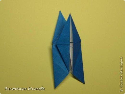 Name: Curly tulip Designer: Valentina Minayeva Parts: 30 Paper: 10,0 x 10,0  10,0 with glue AND... фото 33