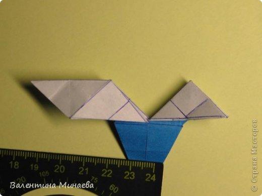Name: Curly tulip Designer: Valentina Minayeva Parts: 30 Paper: 10,0 x 10,0  10,0 with glue AND... фото 41