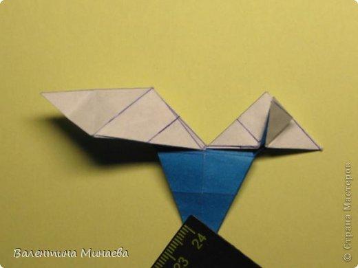 Name: Curly tulip Designer: Valentina Minayeva Parts: 30 Paper: 10,0 x 10,0  10,0 with glue AND... фото 42