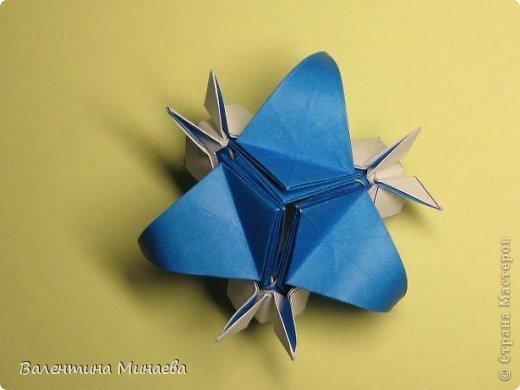 Name: Curly tulip Designer: Valentina Minayeva Parts: 30 Paper: 10,0 x 10,0  10,0 with glue AND... фото 51