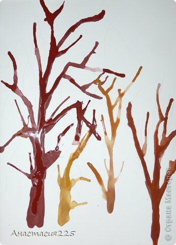 """""""Осенние деревья"""" фото 7"""