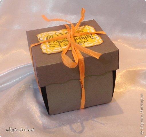 Добрый день! Предоставляю на Ваш суд , первую коробочку такого плана. Делала по заказу сына , который вчера вечером вспомнил, что завтра идет на день рождения)))) Подарок мальчику.  фото 4