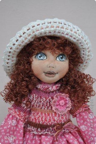 Текстильная кукла Нинель фото 3
