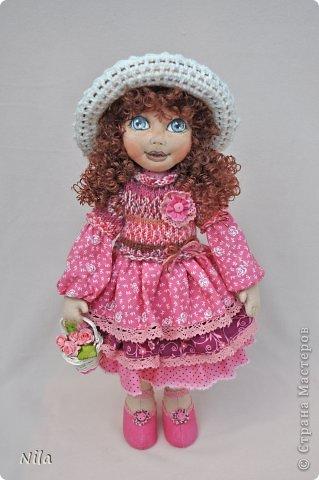 Текстильная кукла Нинель фото 1