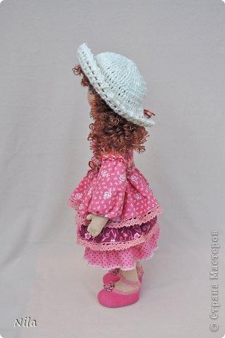 Текстильная кукла Нинель фото 2