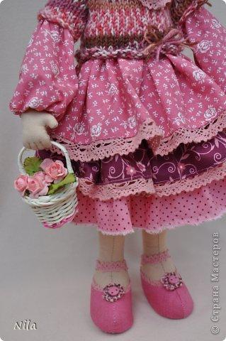 Текстильная кукла Нинель фото 4
