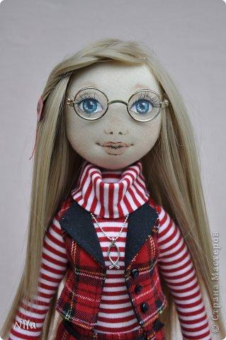 Текстильная кукла Альбина фото 2