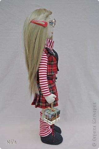 Текстильная кукла Альбина фото 3