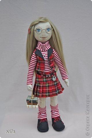 Текстильная кукла Альбина фото 1