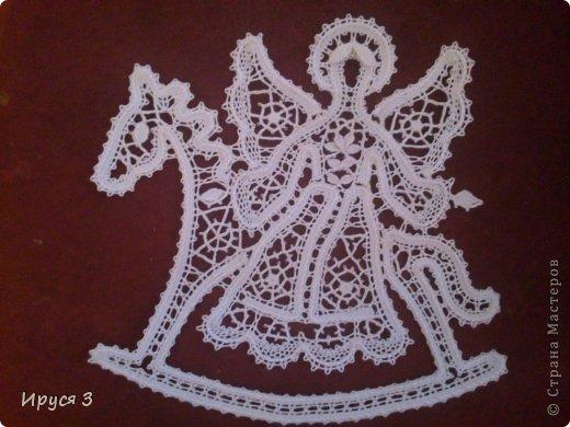 Сплела Ангелочка на лошадке для доченьки Марины -)))