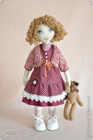 Текстильная кукла Аннушка фото 1