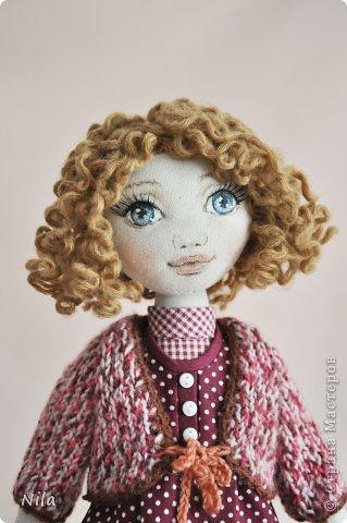 Текстильная кукла Аннушка фото 2