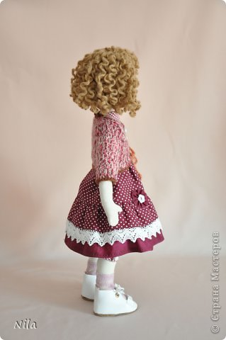 Текстильная кукла Аннушка фото 3