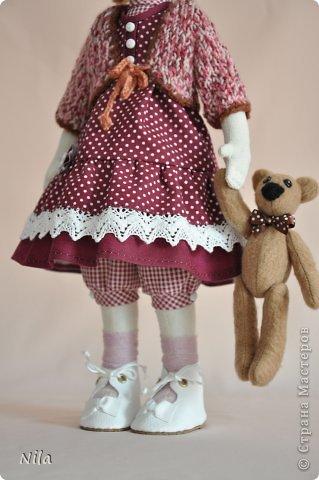 Текстильная кукла Аннушка фото 4
