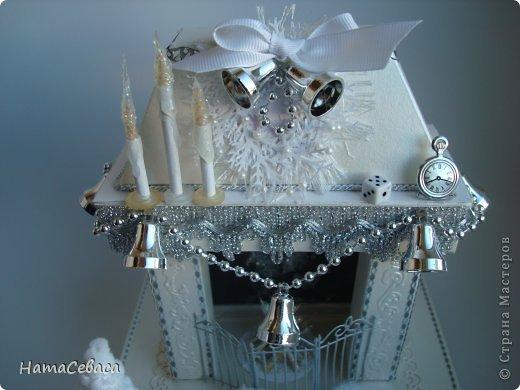 Макет модель Поделка изделие Скрапбукинг Новый год Аппликация Ассамбляж Моделирование конструирование Камины из бумаги Бумага 8