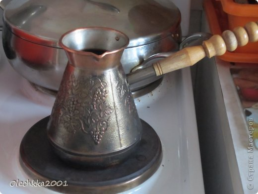 Вот ... решилась наконец то сделать кофейное мыло-скраб..... оказалось очень легко. фото 5