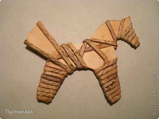 Игрушки из бумажных трубочек своими руками 78