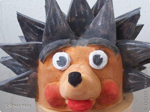 вот такая шапка маска получилась у меня
