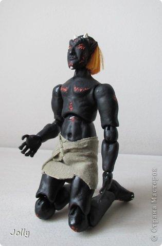 Дремора из мира игры Морровинд, Эзра Киин. Моя первая и долгожданная шарнирная кукла...