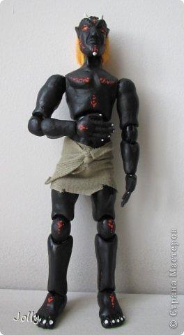 Дремора из мира игры Морровинд, Эзра Киин. Моя первая и долгожданная шарнирная кукла... фото 8