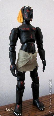 Дремора из мира игры Морровинд, Эзра Киин. Моя первая и долгожданная шарнирная кукла... фото 9