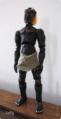 Дремора из мира игры Морровинд, Эзра Киин. Моя первая и долгожданная шарнирная кукла... фото 10