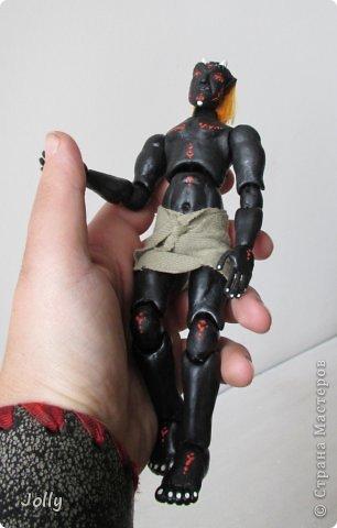 Дремора из мира игры Морровинд, Эзра Киин. Моя первая и долгожданная шарнирная кукла... фото 12