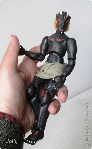Дремора из мира игры Морровинд, Эзра Киин. Моя первая и долгожданная шарнирная кукла... фото 11