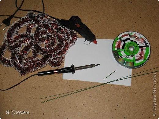 Мастер-класс Поделка изделие Новый год Моделирование конструирование Шары и светильник из CD-дисков МК Диски компьютерные фото 2