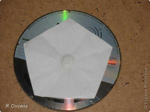 Мастер-класс Поделка изделие Новый год Моделирование конструирование Шары и светильник из CD-дисков МК Диски компьютерные фото 4