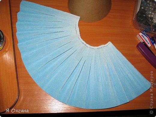 Как сделать из гофрированной бумаги юбку для 973