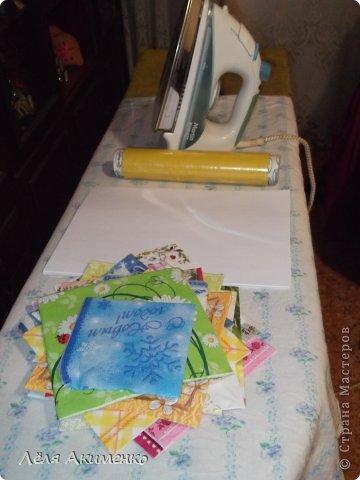 Мастер-класс Материалы и инструменты Упаковочная бумага Мастер-класс Бумага Салфетки фото 2