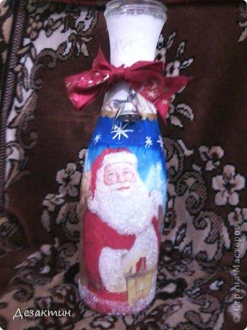 моя новогодняя бутылочка(проба) фото 1