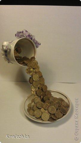 Парящая чашка с водопадом монет) | Страна Мастеров