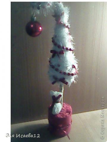 А вот и моя ёлочка белоснежная иголочка.. фото 1