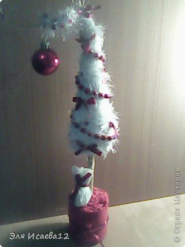А вот и моя ёлочка белоснежная иголочка.. фото 2