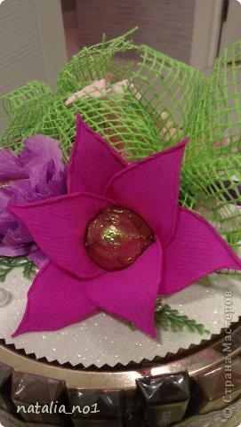 Вот решила попробовать новый цветок сделать...вроде похож на лилию))) фото 4