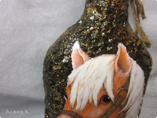 """Мои дорогие и хорошие, наконец-то я с последними работами на сегодняшний день. Новый год """"на носу"""", а нет ни одной работы с его символом - лошадью, но очень кстати поступил заказ, и я реализовала себя в нем.  фото 5"""
