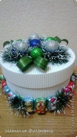 Коробочки для новогодних подарков фото 1