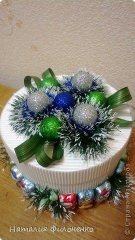 Коробочки для новогодних подарков фото 2