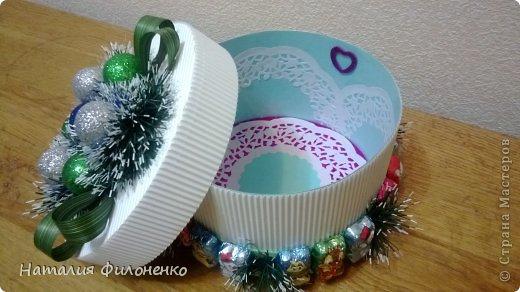 Коробочки для новогодних подарков фото 5